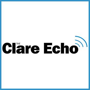The Clare Echo Logo